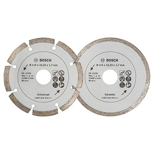 Bosch 2 Diamanttrennscheiben für Fliesen und...