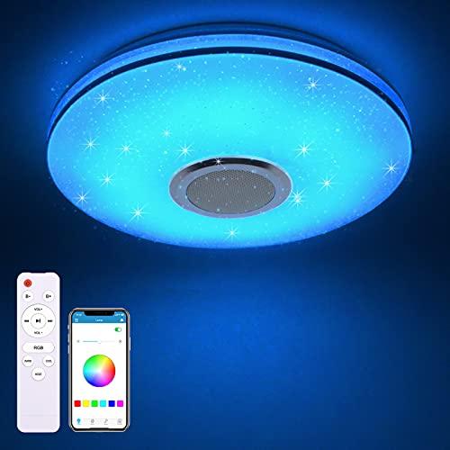 MILFECH 36W LED Deckenleuchte Dimmbar mit...