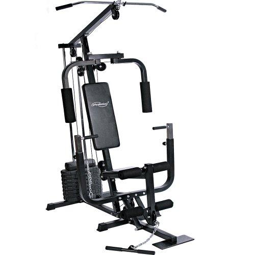 Physionics® Kraftstation - mit 40kg Gewichten,...