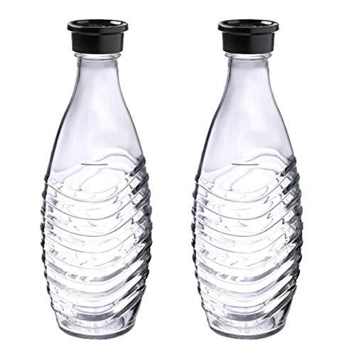 SodaStream DuoPack Glaskaraffe, Ersatzflaschen...