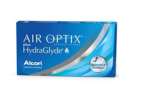 Air Optix HydraGlyde Monatslinsen weich, 6 Stück...