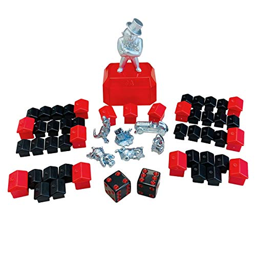 Monopoly Hasbro 765E9972000 - Parker Zubehör Set...
