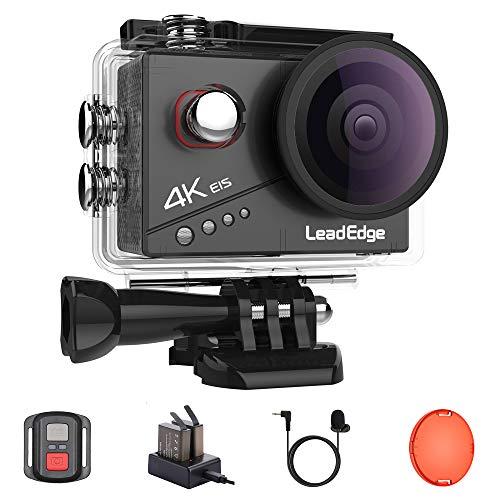 LeadEdge Action Cam 4K 20MP EIS Anti-Shake...