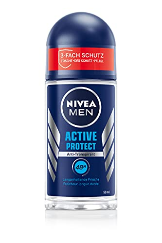 NIVEA MEN Active Protect Deo Roll-On (50 ml),...