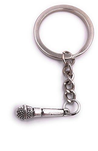 H-Customs Mikrofon Mic klein Schlüsselanhänger...