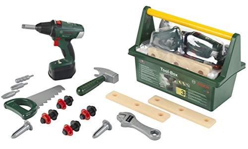 Theo Klein 8520 Bosch Werkzeug-Box I Mit Hammer,...
