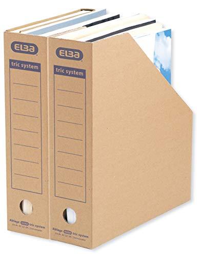 ELBA Stehsammler Pappe, tric system,mit...