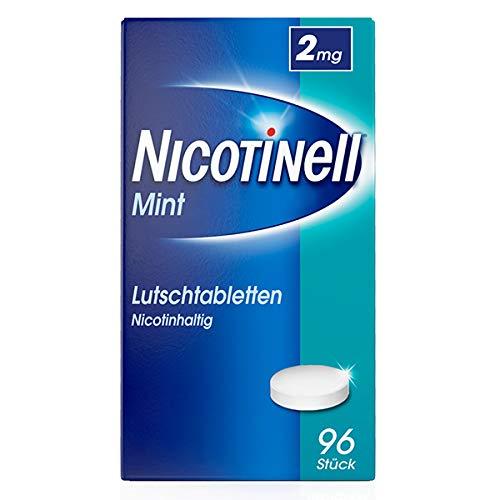 Nicotinell Lutschtabletten 2 mg Mint, 96 St. –...