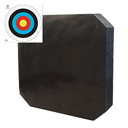 YATE Bogenschießen XXL Zielscheibe Polimix R 80cm...