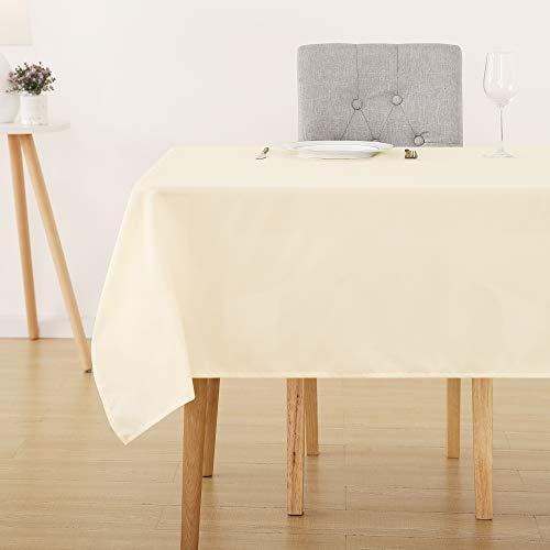 Deconovo Tischdecke Wasserabweisend Tischwäsche...