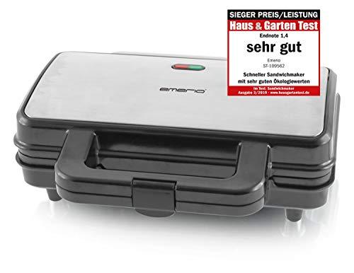 Emerio ST-109562, XXL Sandwichtoaster für alle...