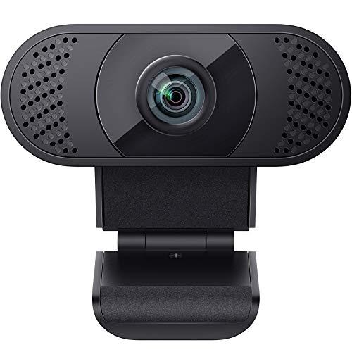 wansview Webcam 1080P mit Mikrofon, Webcam USB 2.0...
