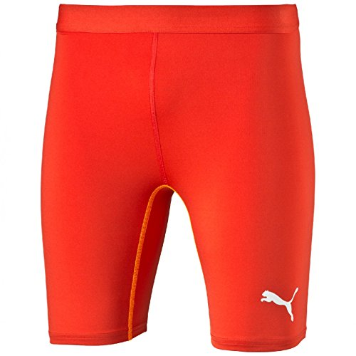PUMA Herren Hose TB Shorts Tights Red, M