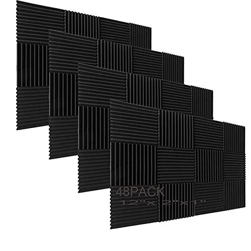 Wandpaneele aus Akustikschaumstoffkeilen, 2,5 x...