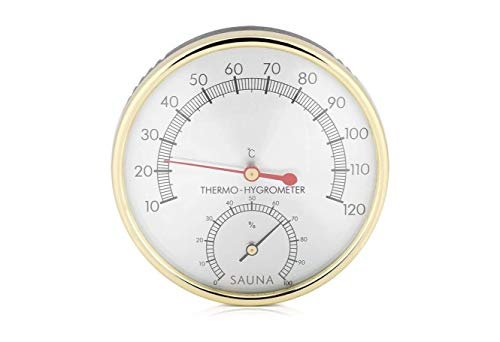Bader Wellness® 2 in 1 Sauna Thermometer...