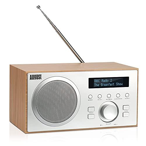 DAB+/FM Radio mit Bluetooth-August MB420-Digitales...
