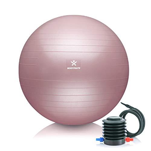 BODYMATE Gymnastikball Sitzball Trainingsball mit...