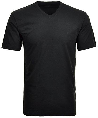Ragman Herren Doppelpack - 2 T-Shirts mit...