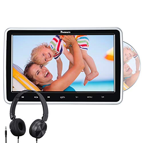 NAVISKAUTO 10,1' Zoll Auto Monitor DVD Player HDMI...