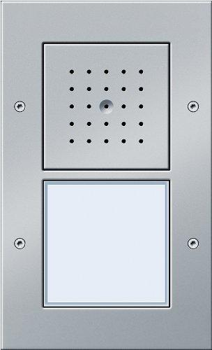 Gira 126665 Türstation AP 1-fach Farbe Alu