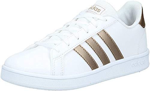 adidas Unisex-Kinder Grand Court K Sneaker, Ftwwht...