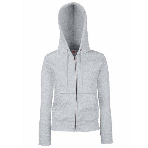 Premium Hooded Sweatjacke Lady-Fit - Farbe:...