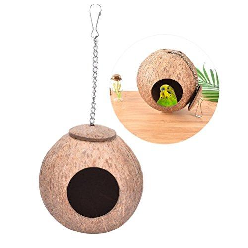 Natürliches Kokosnuss-Vogelnest, Nest für...