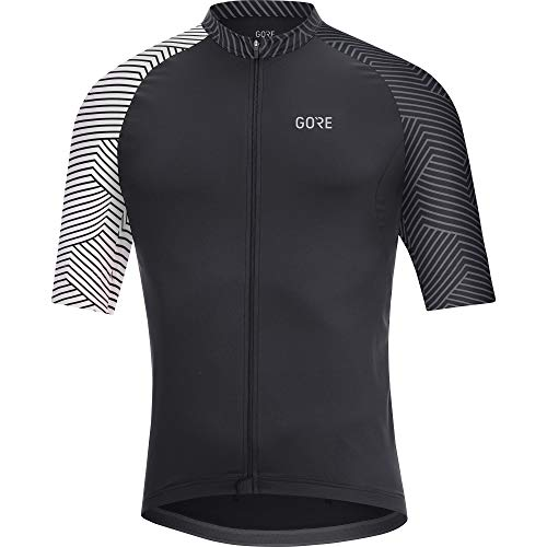 GORE Wear C5 Herren-Kurzarmtrikot, M, Schwarz /...