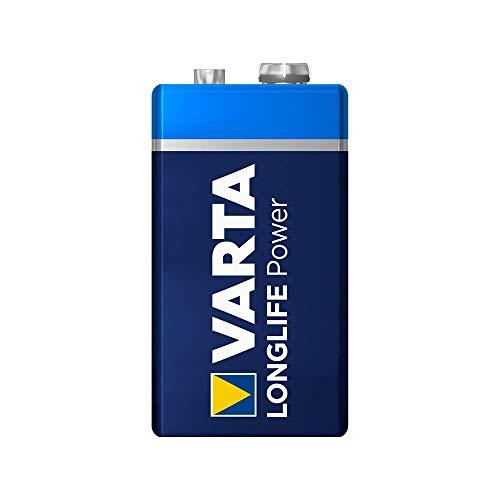 VARTA Longlife Power 9V Block 6LR61 Batterie (1er...