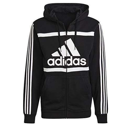 adidas Herren Essentials Sweatjacke schwarz L