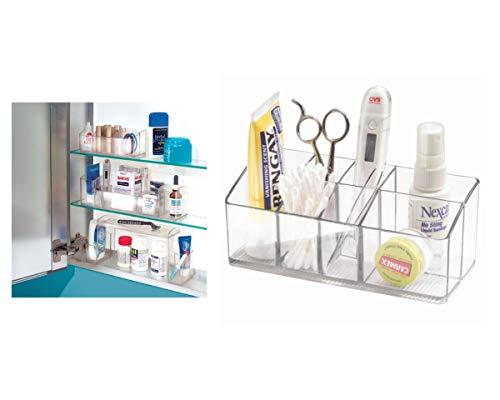 iDesign Medikamentenbox für Bad und...