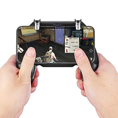 C-FUNN Gamepad Joystick Feuergriff Knopf...