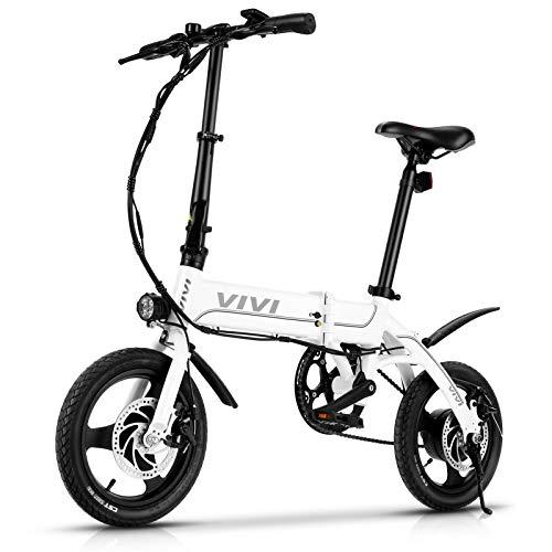 VIVI E-Bike Klapprad, 14 Zoll Faltbares...