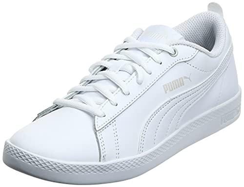 PUMA Damen Smash WNS v2 L Sneaker, White White, 39...