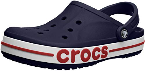 Crocs Damen Bayaband Clog, Marineblau/Pfeffer,...