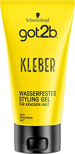 got2b Schwarzkopf Kleber, wasserfestes Styling...