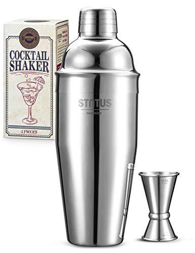 Cocktail Shaker, STNTUS Cocktail Set, 750ml...