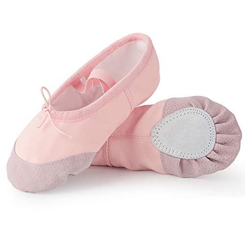 Soudittur Ballettschuhe Mädchen Tanzschuhe...