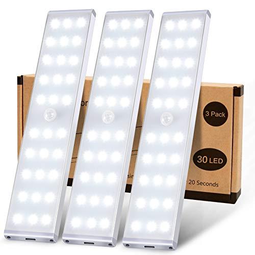 Schrankbeleuchtung, MEQLIN Super Helles 30 LED...