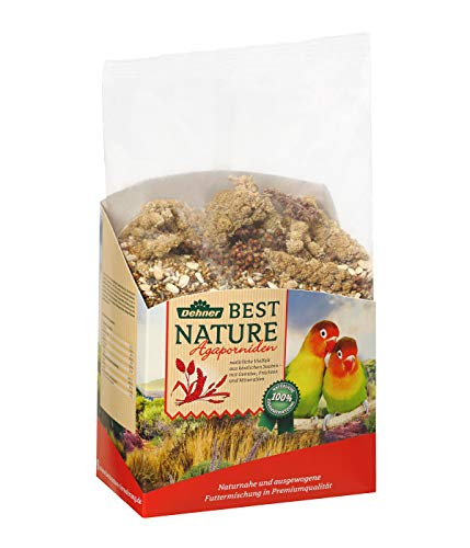 Dehner Best Nature Vogelfutter, Agapornidenfutter,...