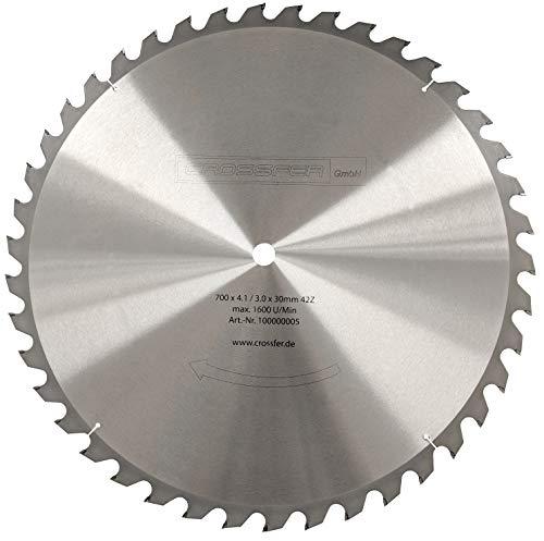 Kreissägeblatt 700mm Hartmetall bestückt 42Z...