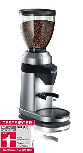 Graef Kaffeemühle CM 800, Silber