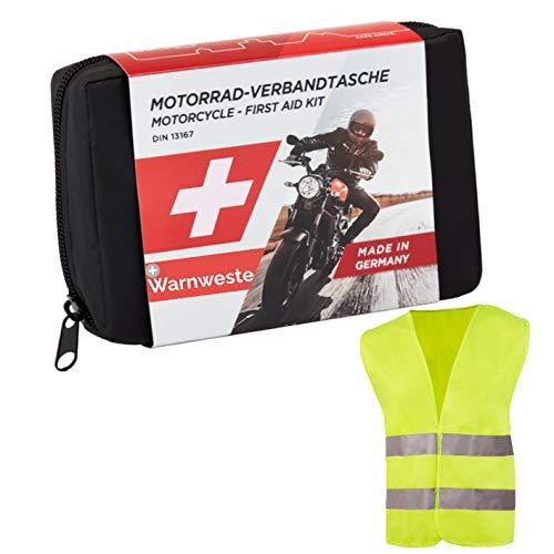GoLab ® Motorrad Erste Hilfe Set - klein und...