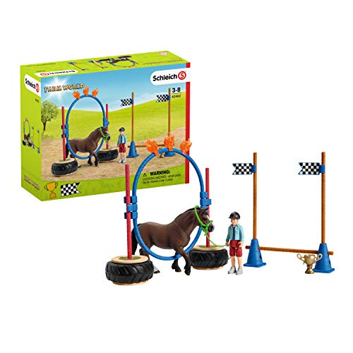 Schleich 42482 Farm World Spielset - Pony Agility...