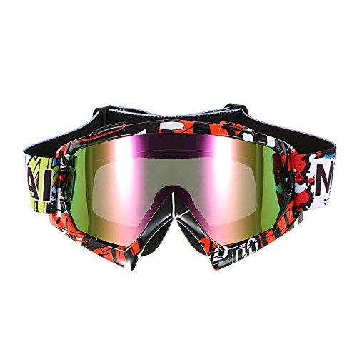 KKmoon Motorradbrillen Schutzbrille Radfahren...