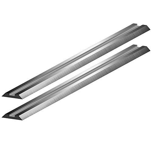 2 Stück HSS Hobelmesser Ersatzmesser 82 x 5,5 x 1...
