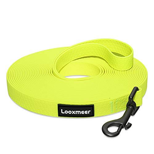 Looxmeer Schleppleine für Hunde, 5m Robuste...
