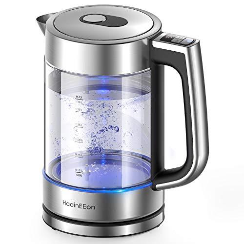 HadinEEon Wasserkocher mit Temperatureinstellung,...