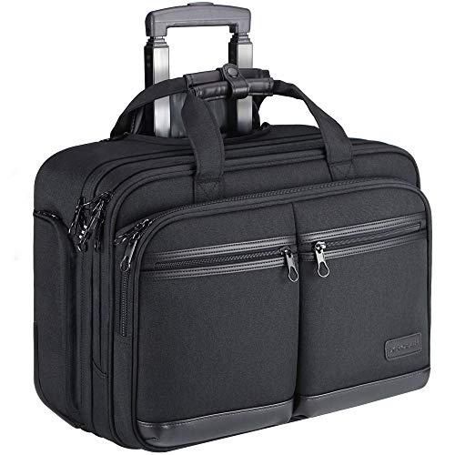 KROSER Trolley Business Rolling Laptop Case mit...