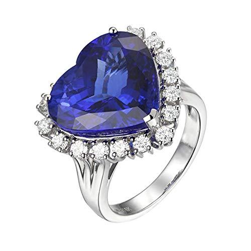 KnSam Trauring Rose Damen Ring Echt Gold Herz Ring...
